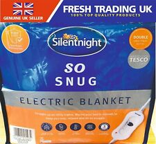 Silentnight So Snug Electric Blanket - Double - 120cm x 135cm