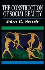 NEW JOHN R SEARLE Construction of Social Reality PAPERBACK 1995 1st FreePress Ed