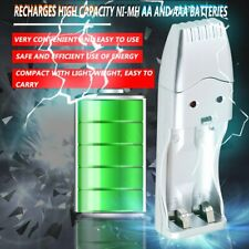 Light Weight Rechargeable NiMH Battery AA AAA High Capacity USB Charger KW