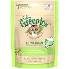 Feline Greenies Dental Treats For Cats Catnip Flavor 2.5 Oz.