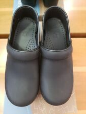 Dansko Professional Clogs Black Oiled Size 37 Brand New **FREE SHIPPING**