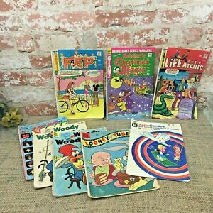 Lot of Golden & SIlver Aged Comics Astro, Archie, Woody Woodpecker, Looney Tunes