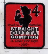 Missouri - St Louis Truck 4 Battalion 4MO Fire Dept Patch