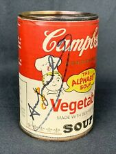 ANDY WARHOL -  Campbell's Soup Can ! THE ALPHABET SOUP !!