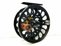 Bauer RX 2 Fly Reel - Black w/ Black Spool - NEW - FREE FLY LINE