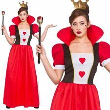 Adult Ladies Storybook Queen of Hearts Costume Fairytale Fancy Dress Book Week