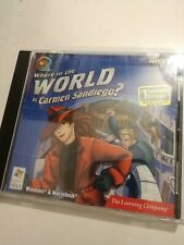 Where in the World is Carmen SanDiego Explore the World Windows Macintosh