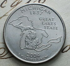 2004  USA  Quarter Dollar  Michigan