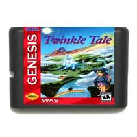 Twinkle Tale: Sega Cartridge Game C22 MD NTSC-USA 16 Bit Megadrive Genesis