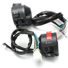 2 Motorcycle 7/8'' Handlebar Horn Turn Signal Headlight Electrical Start Switch
