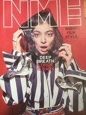 LORDE NME MAGAZINE JUNE 2017 - MELODRAMA -ROYAL BLOOD-SGT PEPPER