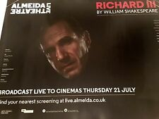 Richard III Almedia Live Original Uk Quad Cinema Poster