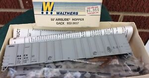 Walthers GATX Corporation GACX 50' Airslide Covered Hopper Kit HO  932-3657 NOS
