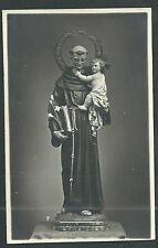 Foto antigua de San Antonio de Padua andachtsbild santino holy card santini