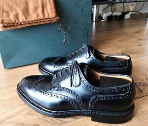Crockett & Jones Pembroke for Ralph Lauren US9.5+Edward Green shoe bags Carmina
