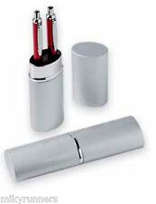 Box a tubo in metallo per due penne (penne non incluse)