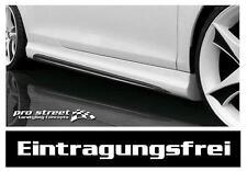 Golf 4 GT-F Seitenschweller Schweller Spoiler GTI Look Side Skirts