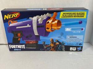 NERF FORTNITE SMG-E MOTORIZED SUB MACHINE GUN BRAND NEW FACTORY SEALED!