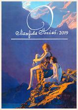 Wall Calendar 2019 [12 pgs A4] Fantastic Art by Maxfield Parrish Vintage M806