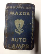 Vintage General Electric Mazda Auto Lamps.