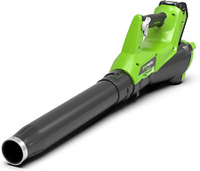 Greenworks 40V Leaf Dust Blower Cordless Axial Fan, No Battery Powered and Charg