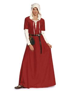 Burda Schnitt Muster, Kleid & Haube Mittelalter, Gr. 36-54