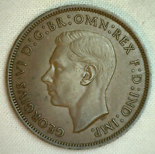 1940 Bronze One Pence UK One Penny Great Britain English Coin YG #P