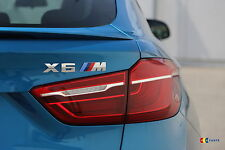 BMW NEW GENUINE F86 X6M SERIES LABEL STICKER BADGE EMBLEM 8057983