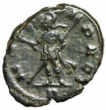 "Aurelian AE Antoninianus ""MARTI PACI Mars"" Milan (Mediolanum) RIC 112 Rare VF"
