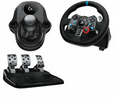 Logitech Driving Force g29 PLAYSTATION & PC VOLANTE & Pedali + Leva del cambio NUOVO