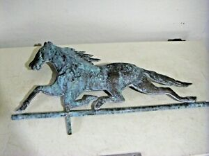 Vintage Copper Horse Weather Vane