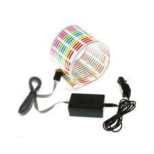 NEU LED Equalizer Aufkleber Sticker Folie Musik Rhythm Licht Lampe 45 x 11cm