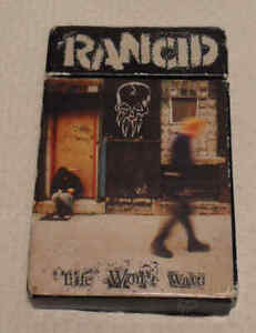 Rancid - Life Won't Wait 1998 US Epitaph 86497-4 Cassette Tape Cig Packet Case