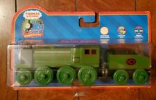 Thomas & Friends Wooden Railway Big City Engine w/ Character Card 99167 NIB 2005