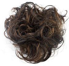 Fake Hair Scrunchie Elasticated Messy Hair Bun Up Do Hairpiece -Hair Extension-s