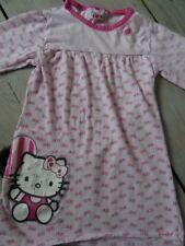Pyjama Chemise de nuit rose motif nœuds fuchsia HELLO KITTY Taille 5 ans
