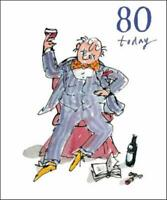 Quentin Blake 80th Birthday Greeting Card Popular Range Greetings Cards