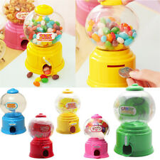 Kids Lovely Candy Dispenser Machine Gumball Gum Ball Snacks Storage Gift Box