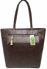 NWT orYANY Tote Espresso Saffiano Leather, MSRP: $340.00