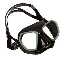 Salvimar Maschera per immersioni da Apnea pesca Sub Noah Nero Verde 1it