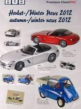 Premium Classixxs 1:12 1:43 Bub 1: 87 Modelo catálogo otoño 2012 comunicados de