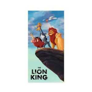 Lion King Beach Towel Disney Character Kids Swimming Holiday Rock