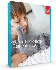 Adobe Photoshop Elements 2020 Mac/Win 2 Computers Sealed Retail Box
