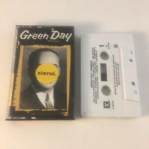 Green Day Nimrod 1997 Reprise Cassette Tape BMG Club  9 46794-4 RARE