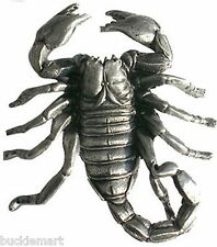 3D SCORPION Belt Buckle Metal pewter western