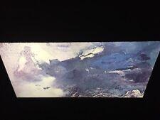 "Chang Dai-Chen ""Evening Cloud"" Chinese Guohua Expressionist Art 35mm Glass Slide"