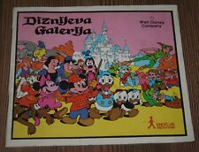 1984 Disney Gallery Walt Disney Complete stickers album Yugoslavia Goofy Mickey