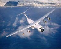 C-141 STARLIFTER IN FLIGHT 8x10 SILVER HALIDE PHOTO PRINT
