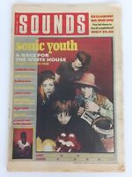 SOUNDS October 29th 1988 Sonic Youth Sabbath Helloween Cameo Tom Tom Club
