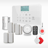 Wolf-Guard GSM SMS IOS Android App Control Support RFID Security Alarm System